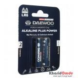 باتری قلمی آلکالاین Daewoo مدل LR6 (پک 2 تایی)