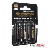 باتری قلمی Daewoo مدل R6 (پک 4 تایی)