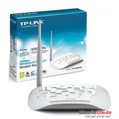 مودم ADSL بی سیم تک آنتن 4 پورت TP-Link مدل TD-W8951ND