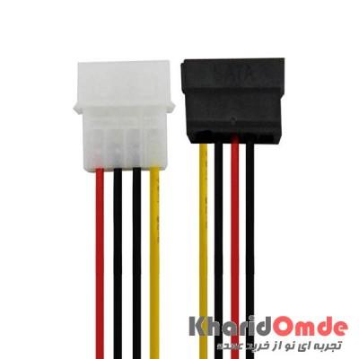 کابل برق SATA بسته 10 تایی