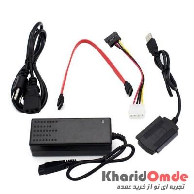 تبدیل USB2.0 به SATA/IDE مدل Wipro