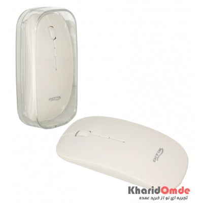موس بی سیم طرح اپل Detex مدل AS-510 سفید