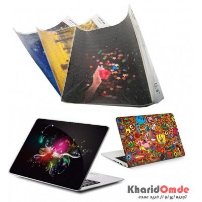کاور پشت لپ تاپ بزرگ 3D طرحدار طرح فانتزی