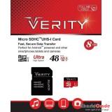 رم موبایل Verity 8GB MicroSDHC 48MB/S 320X خشاب دار