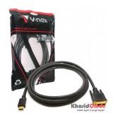 کابل DVI به HDMI طول 1.5 متر V-net