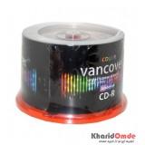 CD خام رنگی Vancover باکس 50 تایی