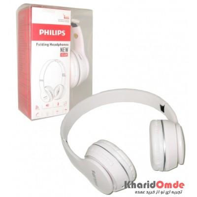 هدست بلوتوث رم خور Philips مدل ST-419 سفید
