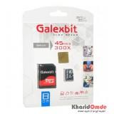 رم موبایل Galexbit 8GB 45MB/S 300X خشاب دار