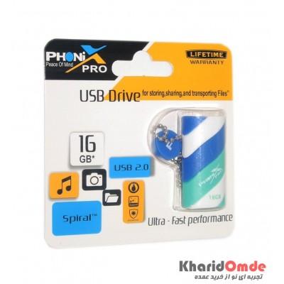 فلش PHONIX PRO مدل 16GB SPIRAL