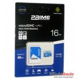 رم موبایل Prime 16GB MicroSDHC 48 MB/S خشاب دار
