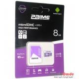 رم موبایل Prime 8GB MicroSDHC 85 MB/S خشاب دار