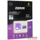 رم موبایل Prime 32GB MicroSDHC 85 Mb/S خشاب دار