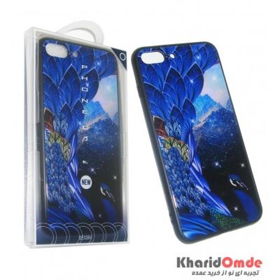 گارد Design مناسب برای گوشی Iphone 7 / 8 Plus طرح طاووس 3