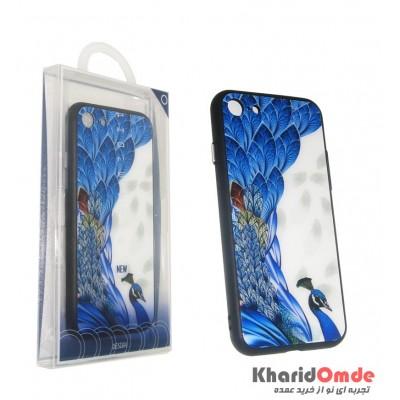 گارد Design مناسب برای گوشی Iphone 6 / 6s Plus طرح طاووس