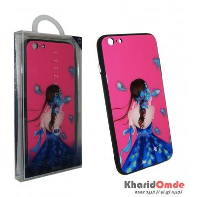 گارد Design مناسب برای گوشی Iphone 6 / 6s Plus طرح دخترانه 2