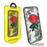 گارد Unipha مناسب برای گوشی Iphone 6 / 6S طرح گل قرمز