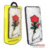 گارد Unipha مناسب برای گوشی P10 Plus طرح گل قرمز
