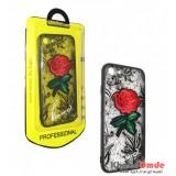 قاب Unipha مناسب برای گوشی Iphone 7 / 8 طرح گل قرمز