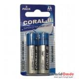 باتری نیم قلمی AAA Um-4 Coral-B