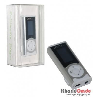 MP3 پلیر LCD دار بزرگ رم خور نقره ای