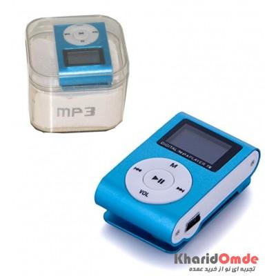 MP3 پلیر LCD دار رم خور کد 029 آبی