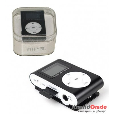 MP3 پلیر LCD دار رم خور کد 029 مشکی