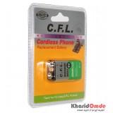 باتری کتابی شارژی 9V-250Mah CFL