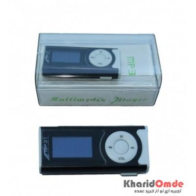 MP3 پلیر LCD دار بزرگ رم خور مشکی