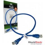 کابل شبکه cat5 پچ کرد 0.5 متری KNET