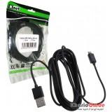 کابل USB به Micro Usb طول 3 متر Knet