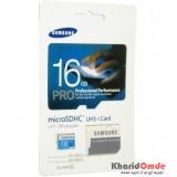 رم موبایل Samsung مدل 16GB MicroSDHC U1 90MB/S خشاب دار