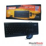 کیبورد و موس hatron مدل HKC220