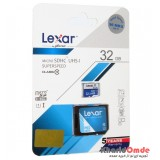 رم موبایل LEXAR مدل 32GB MicroSDHC U1 90MB/S خشاب دار