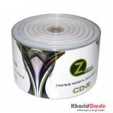 CD خام پرینتیبل Zebra شرینگ 50 تایی
