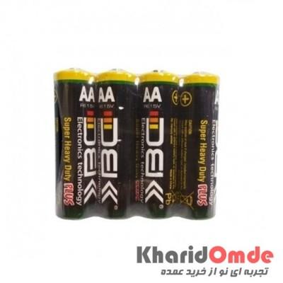 باتری قلمی DBK شرینگ 4 تایی