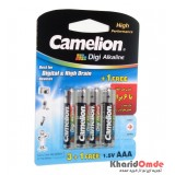باتری نیم قلمی Camelion Digi Alkaline (کارتی 4 تایی)