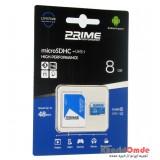 رم موبایل Prime 8GB MicroSDHC 48 MB/S خشاب دار
