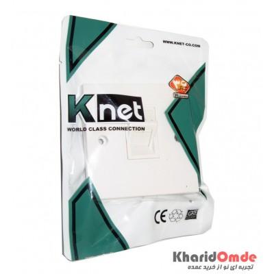 Face Plate 1Port 45 86*86mm Knet مدل K-N1126