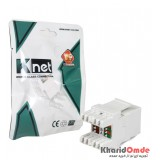 کیستون رو کار 180 درجه Knet Cat6 مدل K-N1100