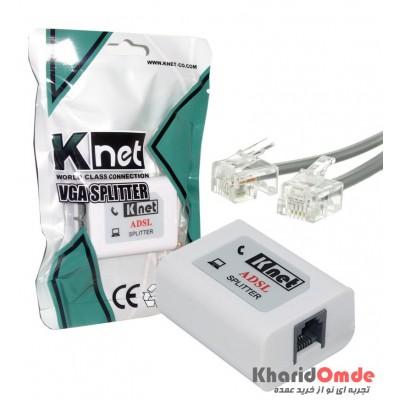 اسپلیتر + کابل تلفن Knet سری جدید مدل K-N1115