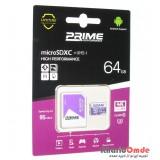 رم موبایل Prime 64GB MicroSDHC 95 MB/S خشاب دار