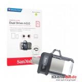 فلش SanDisk مدل 16GB Dual Drive m3.0
