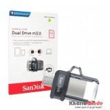 فلش SanDisk مدل 64GB Dual Drive m3.0