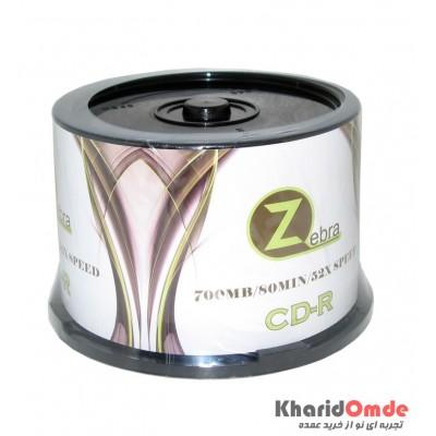 CD خام Zebra باکس 50 تایی