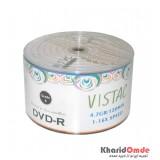 DVD خام Vistac شرینگ 50 تایی