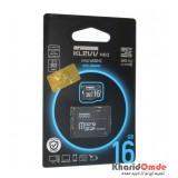 رم موبایل KLEVV مدل 16GB MicroSDHC U1 90MB/S خشاب دار