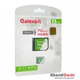 رم موبایل GalexBit مدل 8GB MicroSD 70Mb/S Turbo 466X خشاب دار