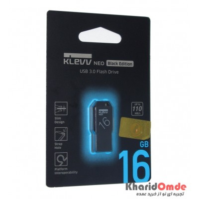 فلش KLEVV مدل 16GB Usb3.0 Black Edition