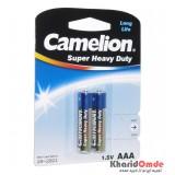 باتری نیم قلمی Camelion مدل Super Heavy Duty (کارتی 2 تایی)