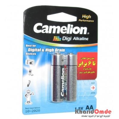 باتری قلمی camelion مدل Digi Alkaline (کارتی 2 تایی)